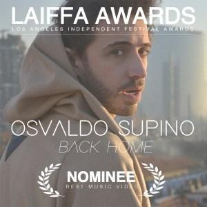 Il successo internazionale di Osvaldo Supino: nomination ai Laiffa Awards