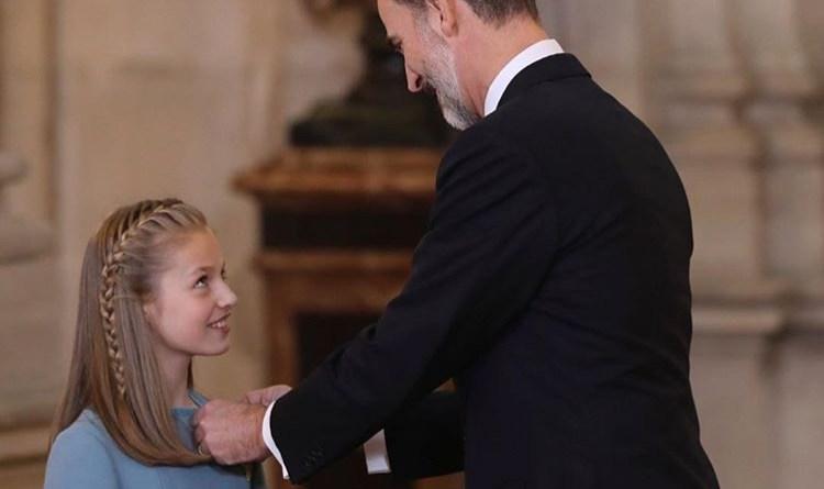Principessa Leonor: l'erede del trono di Spagna fa le prove da regina