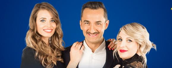 '90 Special: tra gli ospiti di domani sera Cristina D'Avena e Luca Carboni