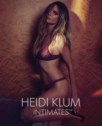 Heidi Klum lingerie 44 anni