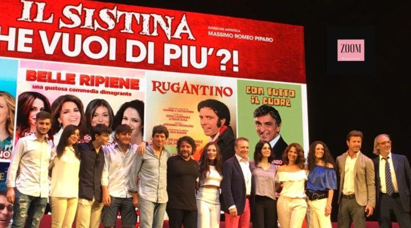 Teatro Sistina, presentata la stagione 2018/19: proposte innovative senza dimenticare i grandi classici