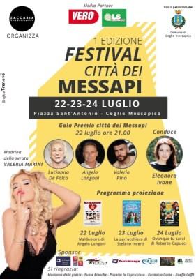 Locandina Festival dei Messapi