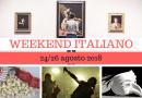 Weekend italiano: film, spettacoli, mostre e concerti (24/26 agosto 2018)