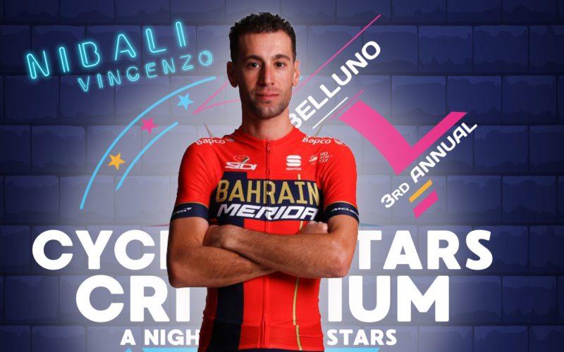 Cycling Stars Criterium: appuntamento a Belluno con le stelle del Giro d'Italia