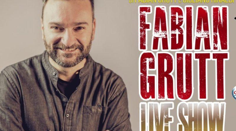 """Il LIVE SHOW di Fabian Grutt al Brancaccio: """"Vi racconto il mio mondo comico"""""""