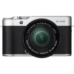 Fujifilm X-A10 Sliver + 16-50mm OIS II 2