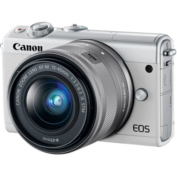 Canon EOS M10 White + 15-45 mm IS STM 1
