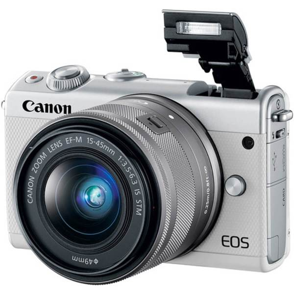 Canon EOS M10 White + 15-45 mm IS STM 2