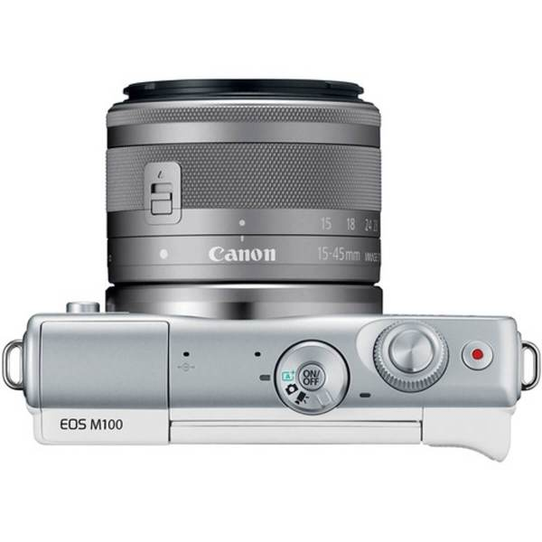 Canon EOS M10 White + 15-45 mm IS STM 8