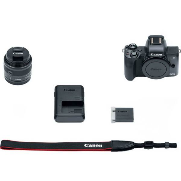 Canon EOS M50 Black + 15-45 mm IS STM 9