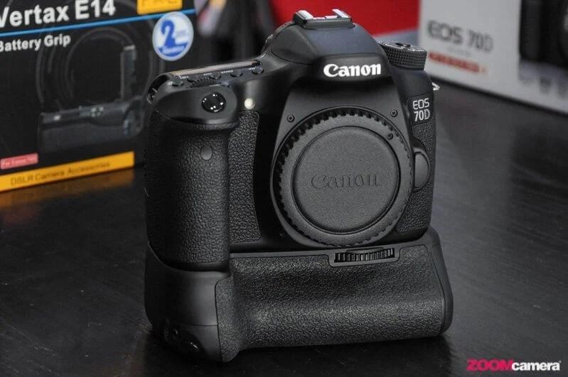 Review Grip เทียบเนียนๆอีกตัว Pixel Vertax E14 for Canon EOS 70D