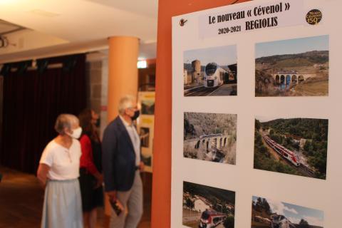 Les 150 ans de la ligne de chemin de fer du train Cévenol, une expo à ne pas manquer !
