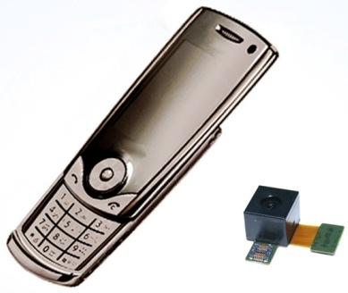 Samsung  e il nuovo sensore CMOS da 8 Megapixel