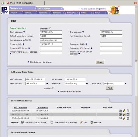 Uscito IPCop 1.4.18