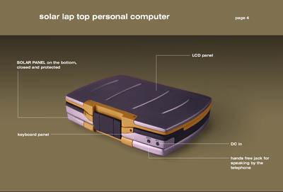 Il Notebook ad Energia Solare