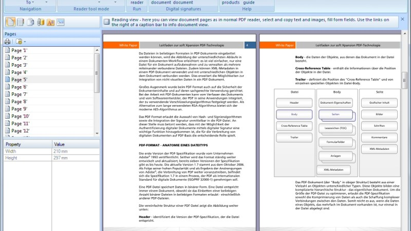 Un lettore di PDF alternativo e funzionale: Perfect PDF reader