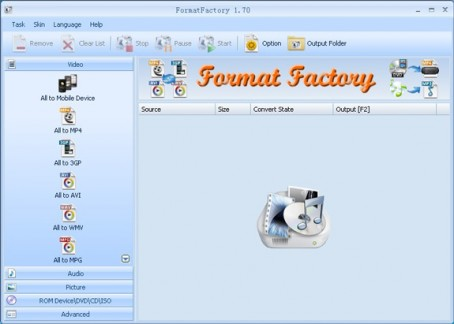 format factory freeware