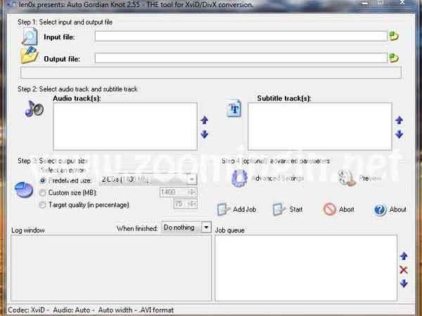 Conversione di un DVD a DivX Guida all'uso di Auto Gordian Knot (AutoGK)