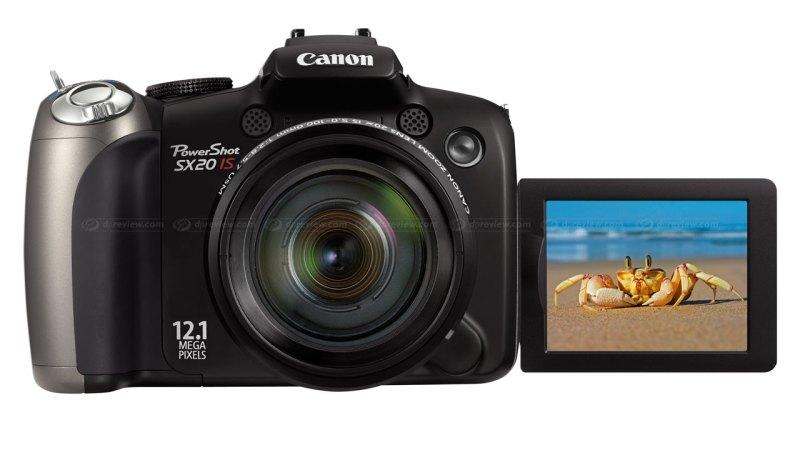 Canon PowerShot SX20 IS super-zoom