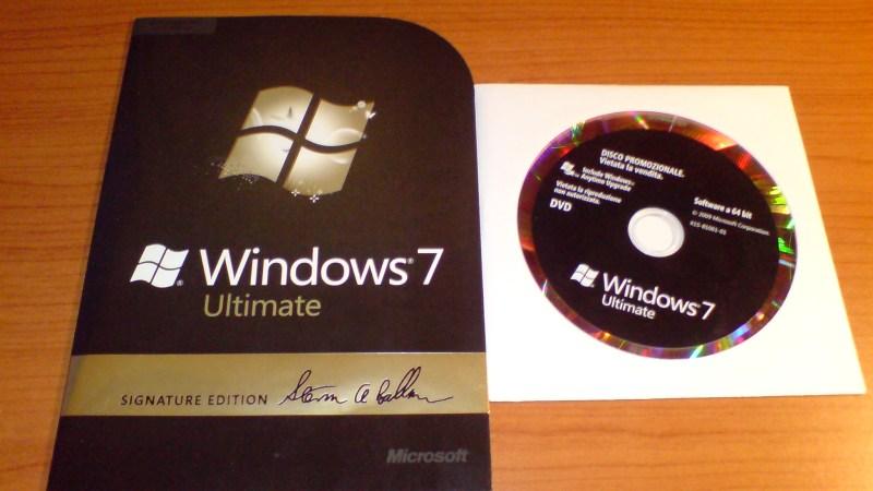 Windows 7: Pacco arrivato, incominciano i preparativi per il Party!