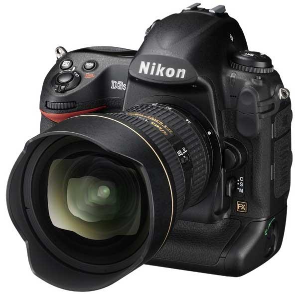 Nikon D3s lateral