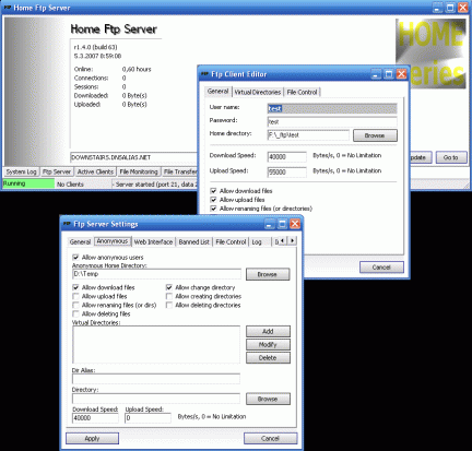 Home FTP Server – Freeware