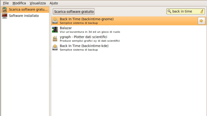 Creare Copie di Backup con Ubuntu
