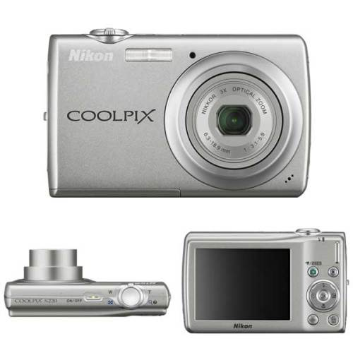 Nikon-coolpix-s220-sopra-avanti-dietro