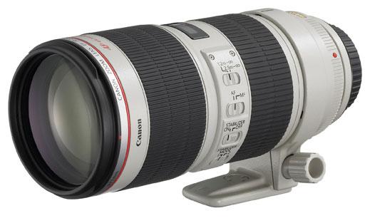 ottica canon ef 70-200 mm f/2.8 L IS USM II recensione