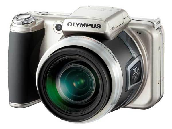 Olympus rilascia due megazoom: SP-800UZ (30x) e la SP-600UZ (15x)