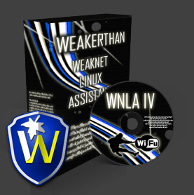 WeakNet IV Linux distribuzione creata per la sicurezza informatica