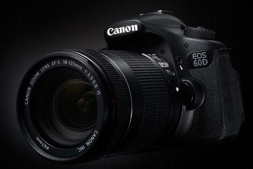 Canon EOS 60D, Annunciata la Nuova Reflex semi-pro Canon