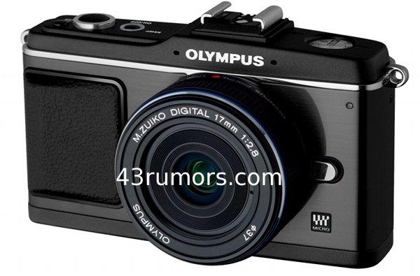 Olympus-E-P2 black