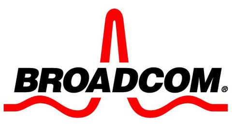 logo Broadcom -azienda che ha rilasciato i driver open source per le proprie schede wireless sotto Linux