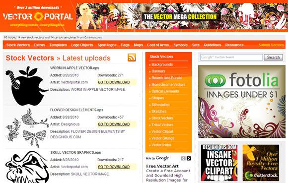 Vector Portal immagini vettoriali