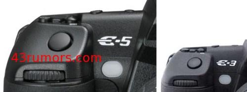 Olympus E-5 sostituisce la Olympus E-3