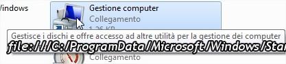 selezionare gestione computer all'interno degli strumenti di amministrazione di Windows