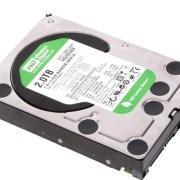 hard disk western digital da 2 TB montato e configurato