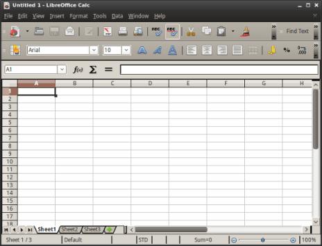 calc LibreOffice
