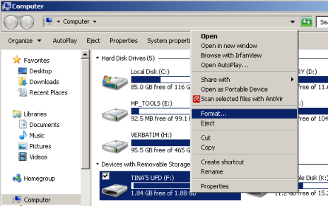 Come Formattare Hard Disk USB in Windows