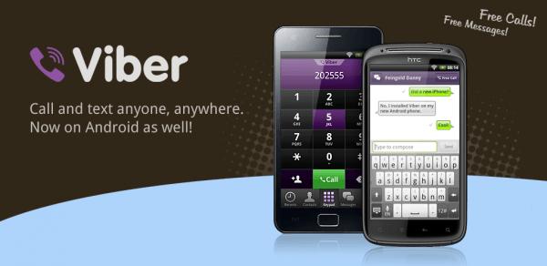Viber, Chiamare Gratis con Android