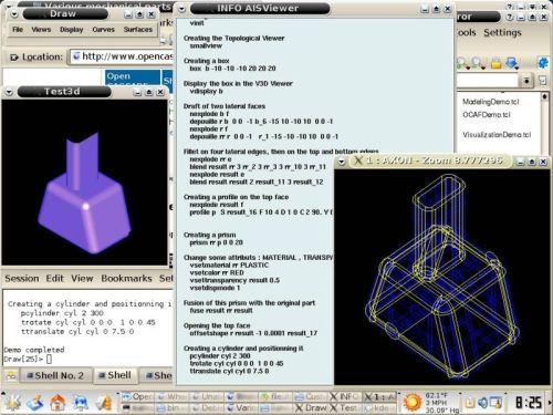 opencascade CAD