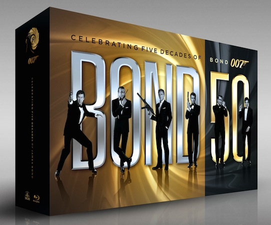 Special Box Blu-Ray per i 50 anni di James Bond