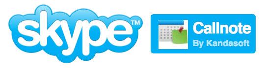 callnote per skype