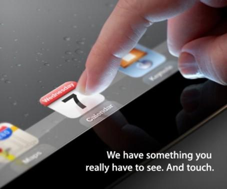 Apple il 7 Marzo Presenterà il Nuovo iPad 3