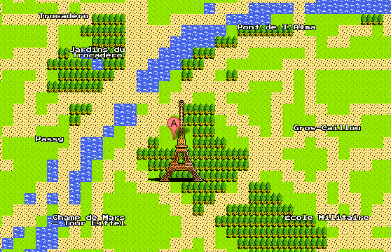 Google Maps per il Nintendo NES 8-bit