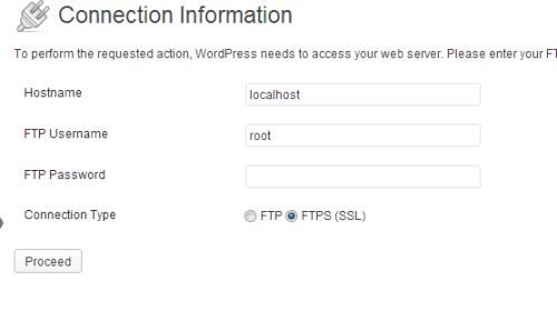 Wordpress autoinstall auto update is not working