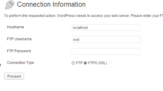 How to fix WordPress Install/Update Plugin not working on a custom VPS