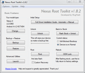 NexusRoot ToolKit