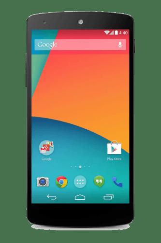 Nexus 5 fronte